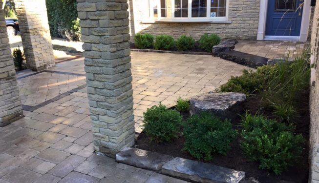 Landscaping company Milton, Interlocking, lawn care
